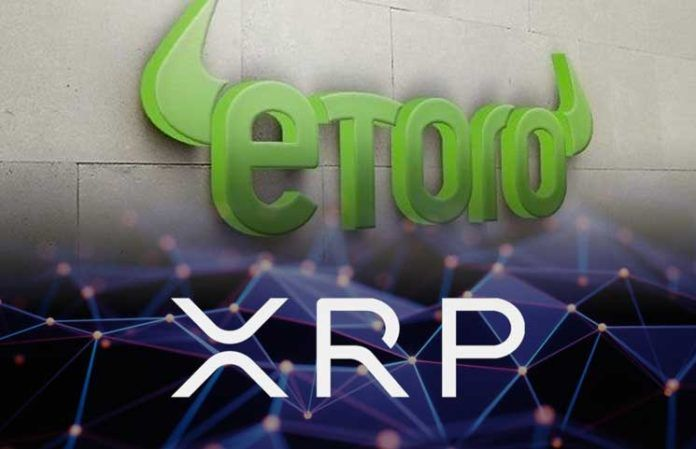 eToro Finally Announces Support for XRP Resulting in Mega Attack from Users 696x449 1 - Ripple Adoption: 54% Of Crypto Traders On eToro Exchange Own XRP