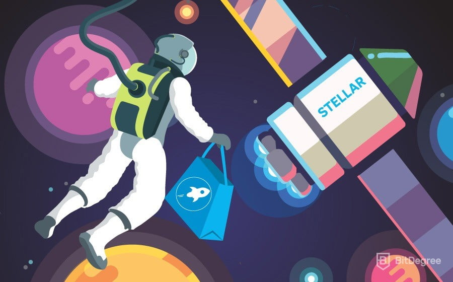 stellar cryptocurrency split payment across wallets