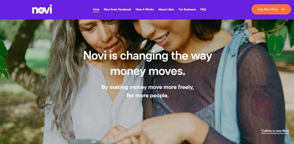 Facebook Calibra rebrands as Novi - Facebook's Libra Rebrands The Digital Wallet
