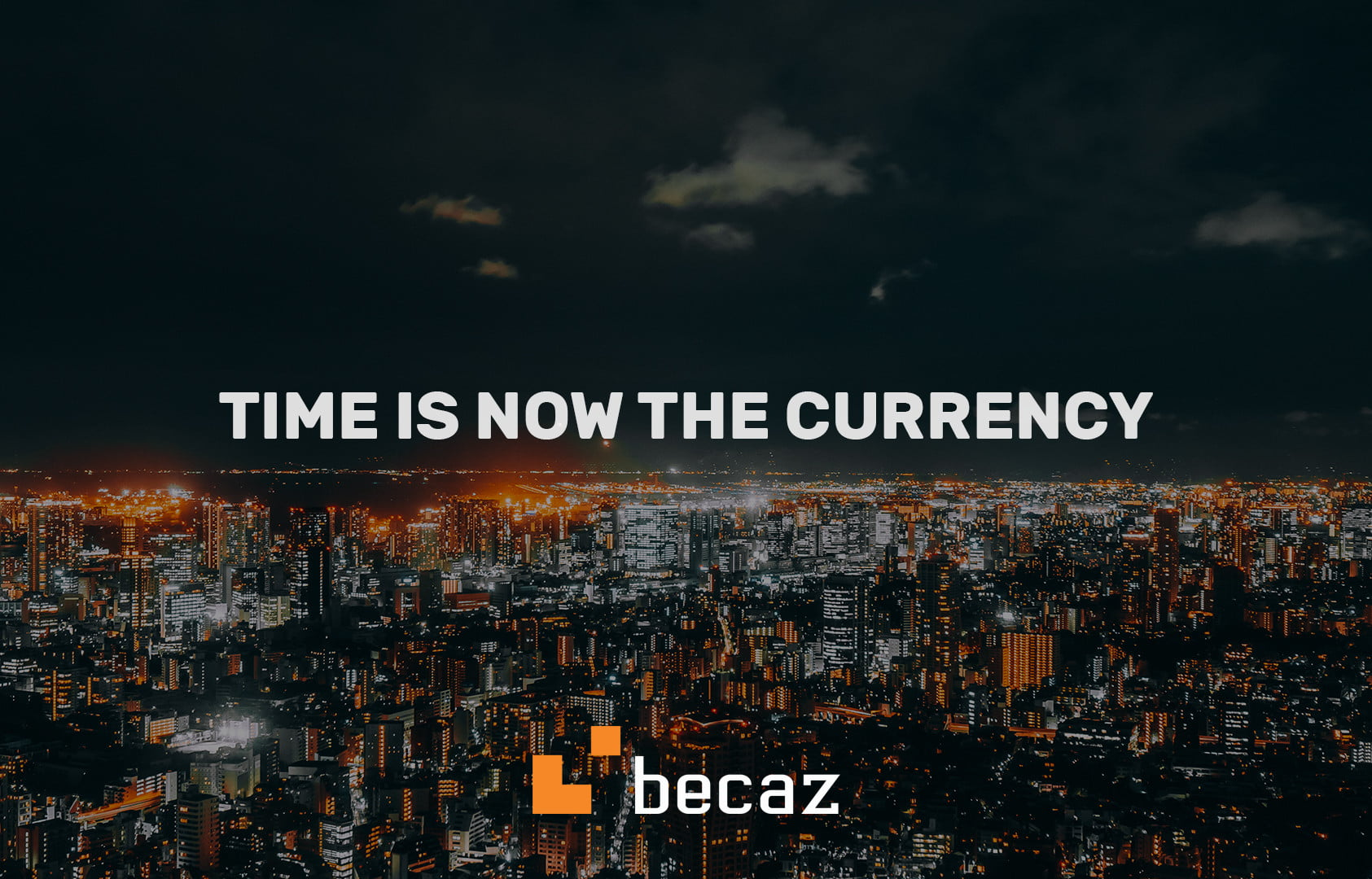 becaz - It finally happened: Time is a Currency Now!