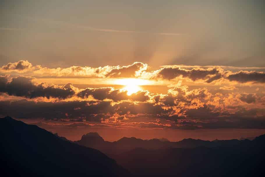 sunrise mountain sun switzerland - Bitcoin Will Rise To $397,000 - Here's The Timeframe