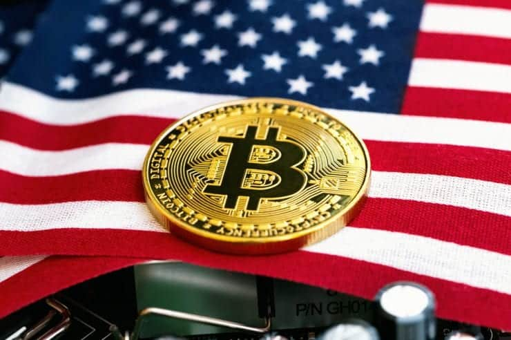US flag bitcoin 740x492 1 - US Army To Track Crypto Transactions?